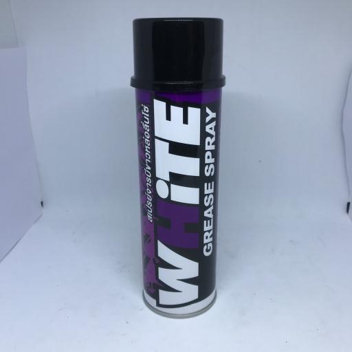 สเปรย์หล่อลื่นโซ่ จารบีขาว (WHITE) 600ml